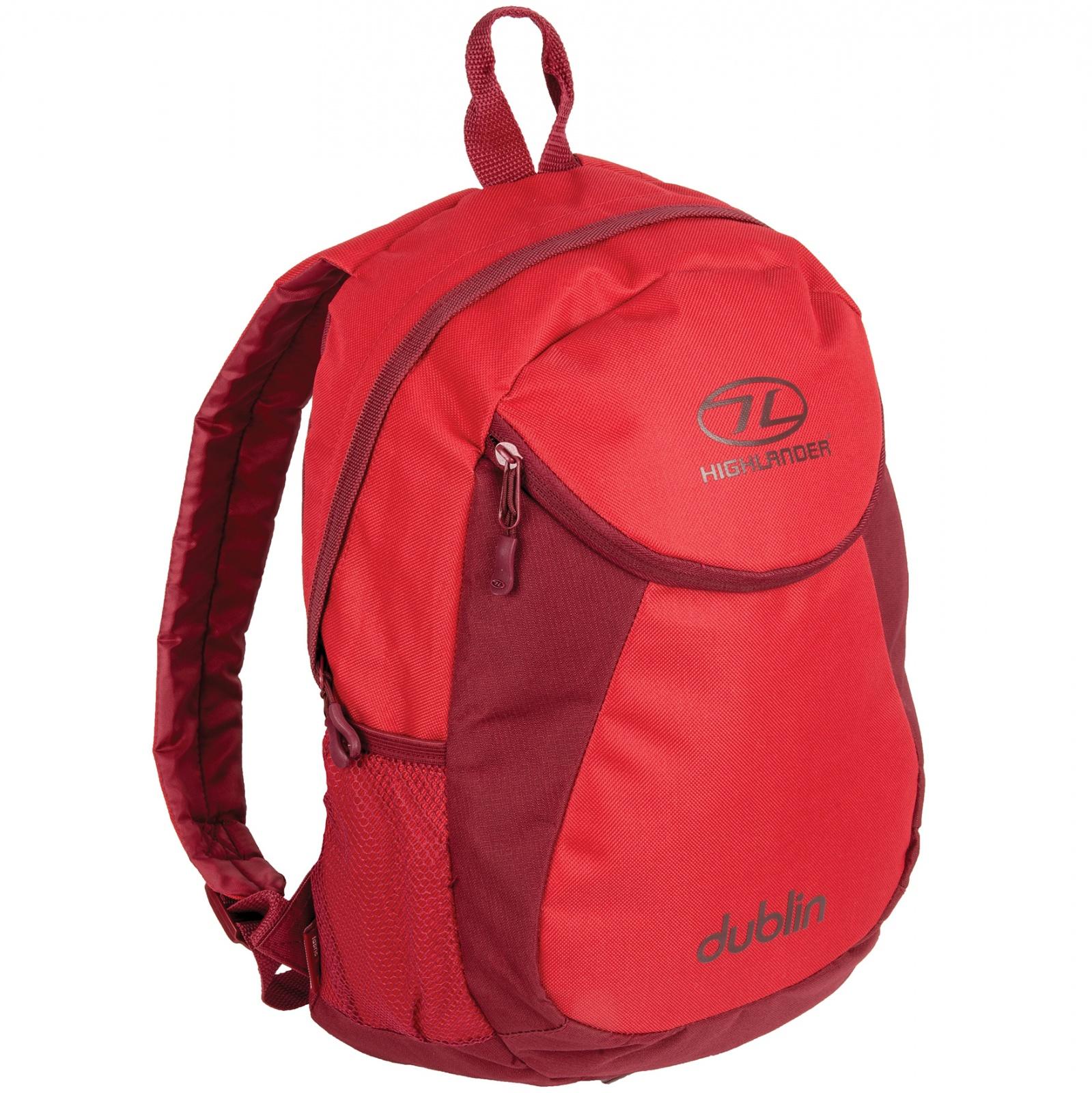 Рюкзак городской Highlander Dublin 15 Tango Red/Rumba